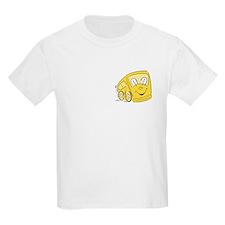 YELLOW HAPPY BUS Kids T-Shirt