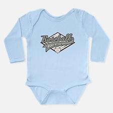 Baseball Respect All Long Sleeve Infant Bodysuit