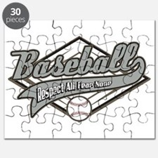 Baseball Respect All Puzzle