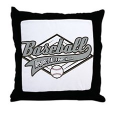 Baseball Respect All Throw Pillow