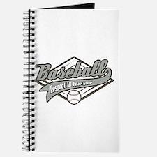 Baseball Respect All Journal