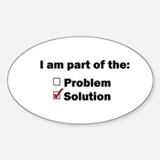 Be Part of the Solution! Decal