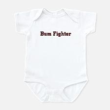 bum fighter Infant Creeper