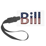 Bill Stars and Stripes Large Luggage Tag