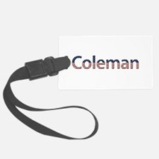 Coleman Stars and Stripes Luggage Tag