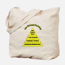 The McFood Pyramid Tote Bag