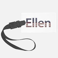 Ellen Stars and Stripes Luggage Tag