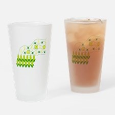 Genetic Pollution Drinking Glass