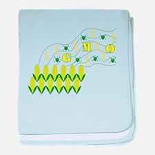 Genetic Pollution baby blanket