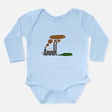 No Smoking? Long Sleeve Infant Bodysuit