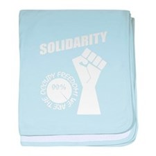Occupy Freedom! baby blanket
