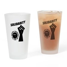 Occupy Freedom! Drinking Glass