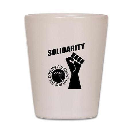 Occupy Freedom! Shot Glass