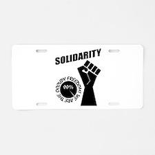 Occupy Freedom! Aluminum License Plate
