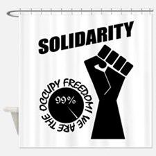 Occupy Freedom! Shower Curtain