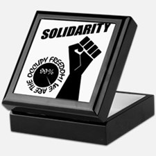 Occupy Freedom! Keepsake Box