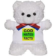 God Hates Facts Teddy Bear