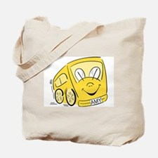 AMY'S YELLOW BUS Tote Bag