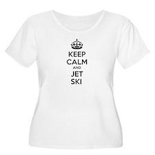 Keep calm and ski on T-Shirt