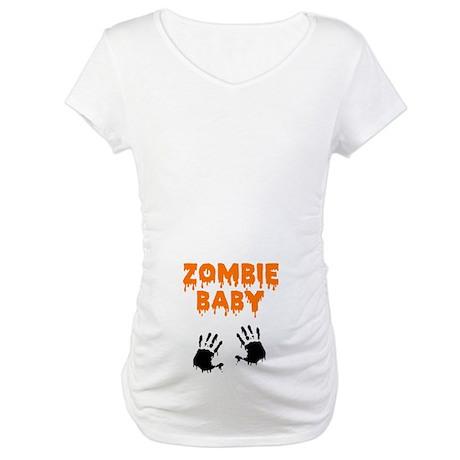 Zombie Baby Maternity T-Shirt