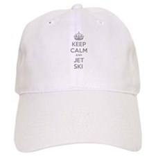 Keep calm and ski on Baseball Cap