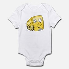 AMY'S YELLOW BUS Infant Creeper