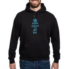 Keep calm and jet ski Hoodie