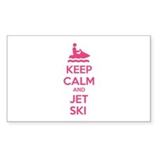 Keep calm and jet ski Decal