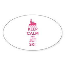 Keep calm and jet ski Decal