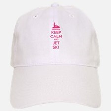 Keep calm and jet ski Baseball Baseball Cap