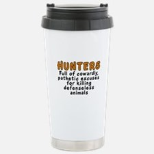 Hunters: Cowardly excuses - Travel Mug