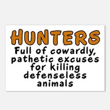 Hunters: Cowardly excuses - Postcards (Package of