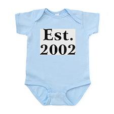 Est. 2002 Infant Creeper