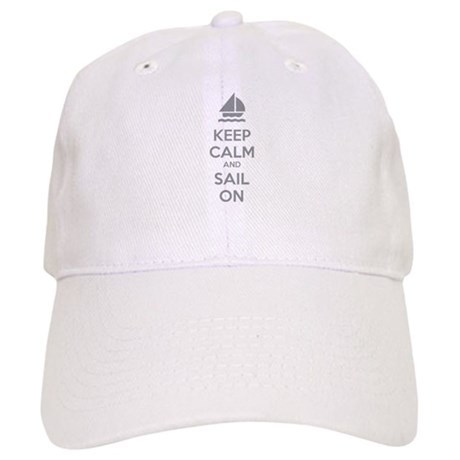 Keep calm and sail on Cap