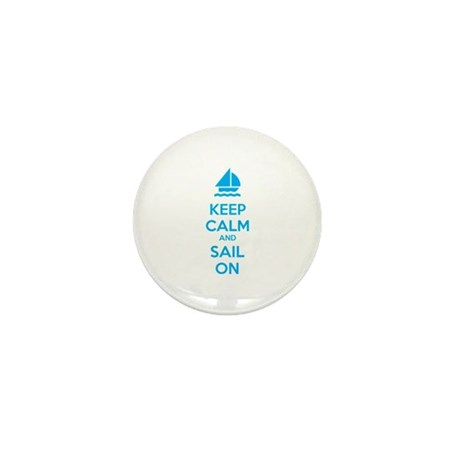 Keep calm and sail on Mini Button (100 pack)