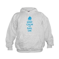 Keep calm and sail on Hoody