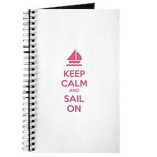 Keep calm and sail on Journal