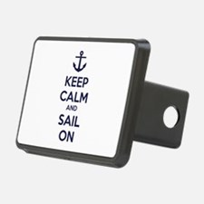 Keep calm and sail on Hitch Cover