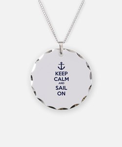 Keep calm and sail on Necklace