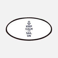 Keep calm and sail on Patches