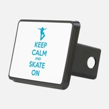 Keep calm and skate on Hitch Cover