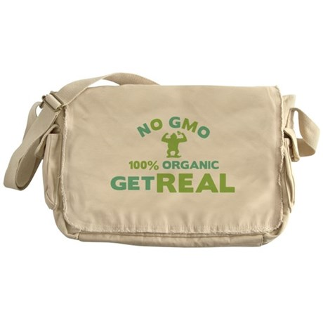 NO GMO Messenger Bag