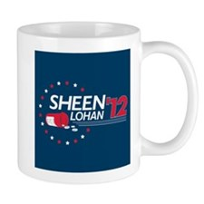 Sheen Lohan 2012 Small Mug
