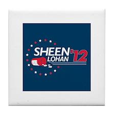 Sheen Lohan 2012 Tile Coaster