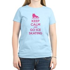 Keep calm and go ice skating T-Shirt