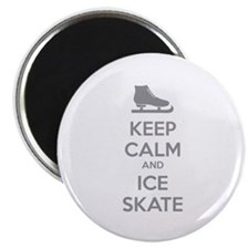 Keep calm and ice skate Magnet