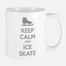 Keep calm and ice skate Mug