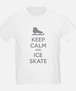 Keep calm and ice skate T-Shirt