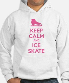 Keep calm and ice skate Hoodie