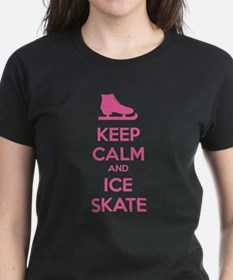 Keep calm and ice skate Tee